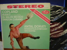 Mercury LP Copeland Rodeo El Salon Mexico Danton Cubango Dorati SR90172 STEREO