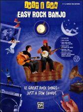 Just for Fun Easy Rock Banjo TAB Chord Songbook Book