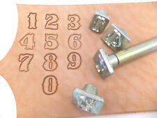 """IVAN - [ # 8136 - 1/2"""" or 13 mm ] STANDARD NUMBER STAMPING SET LEATHER EMBOSSING"""