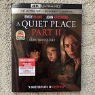 "A Quiet Place: Part II 2 (4K UHD + Blu-ray + Digital, 2021) ""New"" ""Sealed"""