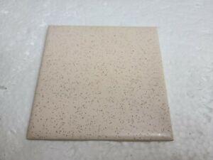 Pink Ceramic Tile Speckled Dots Specs 4 in Florida Tile FT Vintage Made in USA