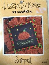Lizzie Kate Plumpkin Chart And Star Buttons #S18