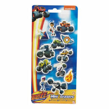 Blaze And The Monster Machines Character Mini Erasers 12 Pack 3+ Years