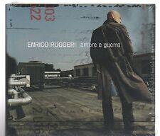 ENRICO RUGGERI AMORE E GUERRA  CD + DVD DIGIPACK  F.C.SIGILLATO!!!