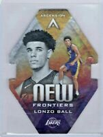 Lonzo Ball Die-Cut RC Ascension New Frontiers #NF1 Rookie Los Angeles Lakers SSP