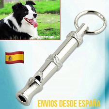 Silvato Para Perros De Adiestramiento Caza Antiladridos Ultrasonido Con Llavero