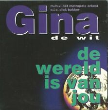 "Gina de Wit ""De wereld is van jou"" pre sellection Eurovision Netherlands 1996"