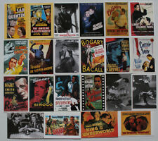 Humphrey Bogart lot of 22 postcards printed in 1990's