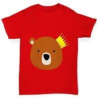 Twisted Envy Boy's King Bear T-Shirt