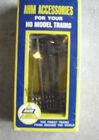 Vintage HO scale AHM 12 Piece Plastic Telephone Poles NIB 5610 125