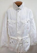 $895 RALPH LAUREN BLACK LABEL White Trooper Jacket Windbreaker Parka XXL/2XL