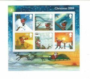 GB QEII 2004 Christmas Miniature Sheet MS2501 Superb U/M Condition