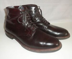 ALDEN BOOTMAKER EDITION OXBLOOD LEATHER CHUKKA BOOT 11.5 B cordovan