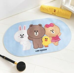 Line Friends Brown & Friends Non Slip Shower Bath Mat