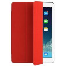 Schutzhülle f Apple iPad Air 5 Case SMART Cover Schutz Tasche rot red Magnet