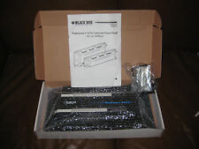 BLACK BOX NETWORK SERVICES JPM085A-R3 CAT5E PATCH PANEL 24 PORT FREE SHIPPING