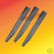 3 Mower Blades fit Bolens  42'' Cut Center Mount Mowers  # 1727926,  172-7926,