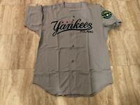 #54 Team Issued Pulaski Yankees Gray Road Jersey New York Yankees