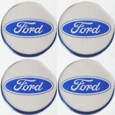 Ford Emblem BLAU Felgen Aufkleber Logo Nabendeckel Nabenkappen Embleme 4x56mm