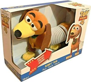 Disney Toy Story 4 Plush Slinky Dog Figure Gift 2018 Alex Brands Rare New