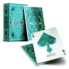 Artilect Deck - Green - Playing Cards - Magic Tricks - New