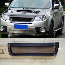 For Subaru Forester 2009-2012 Unpainted Front Bumper Grill Honeycomb Mesh Grille