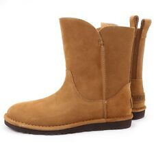 UGG Australia Alida Chestnut Short Classic Suede Boots 1017533 US 10 NEW