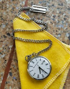 Vintage Citizen Electronic Pocket Watch 3701 Tuning Fork April 1976 Kanji JDM