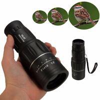 16X52 Dual Nachtsicht Focus Lens Fernglas Fernrohr Monokular Teleskop Camping