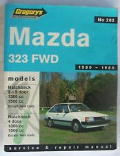 Mazda 323 FWD 1980-1985 Gregory's Service & Repair Manual No.202