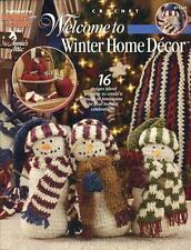 ~Welcome to Winter Home Decor Crochet Pattern Book~