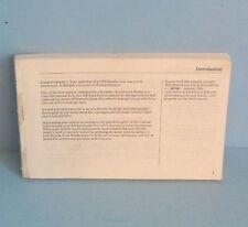 98 1998 Honda Civic Sedan owners manual