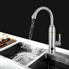 230V Electric Faucet Tap Hot Water Heater Instant For Home Bathroom Kitchen Boat