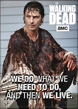 """The Walking Dead (TV Series) Photo Quality Magnet: Rick """"We Do What We Need To,,"""