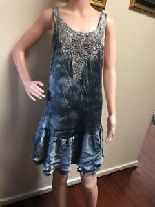 ❤️❤️Cohen Et Sabine High Quality 100% Silk Dress Size 10❤️❤️❤️