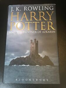 Rare Harry Potter & The Prisoner of Azkaban Adult Cover Hardback Book 2004 1st