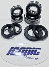 99-15 Yamaha YZ250 YZ125 BOTH Front and Rear Wheel Bearing and Seal Kit OEM