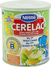 Nestlé Cerelac Infant Cereals  Maize *Baby Food* 400g new sealed ONLY 1