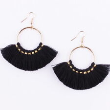 7 Colors Boho Tassel Earrings Handmade Long Earring Colorful Drop Earring Gifts