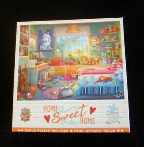 """Master Pieces 550 Piece Home Sweet Home """"Annie's Hideaway"""" Jigsaw Puzzle"""