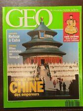 Magazine Géo, Vente au numéro (cf. liste détaillée)