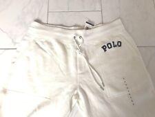 NWT POLO RALPH LAUREN WOMENS LADIES TRACK SWEAT PANTS SWEATPANTS FLEECE LARGE