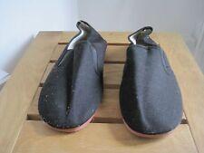 Tai-Chi/Kungfu slippers balck size 37
