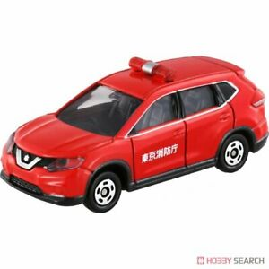 TOMICA #1 NISSAN X-TRAIL FIRE CHIEF CAR SCALE 1/63 Diecast Model Car in stock