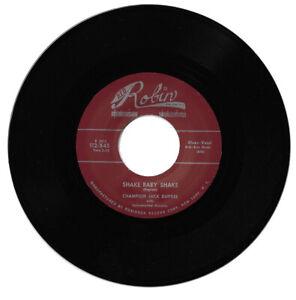 Champion Jack Dupree Shake Baby Shake / Highway Blues R&B Reissue