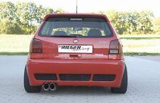 Rieger Heckstoßstange Schürze Heckschürze für VW Polo 6N / RIEGER-Tuning
