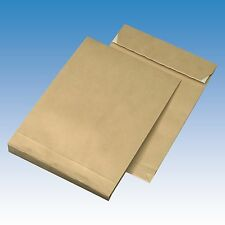 25Faltentaschen Versandtaschen -C4- 229 x 324 x 40mm 130gm² Klotzboden 4cm