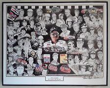 Robert Stephen Simon Signed Car Racing Print