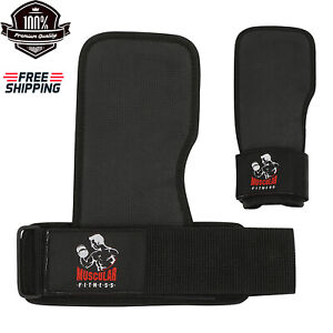 BODY BUILDING GRIP GYM FITNESS TRAINING STRONG EXERCISE GRIP PAD UNISEX