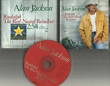 ALAN JACKSON Rudolph the red Nosed Reindeer CHRISTMAS TRK PROMO CD single 1996